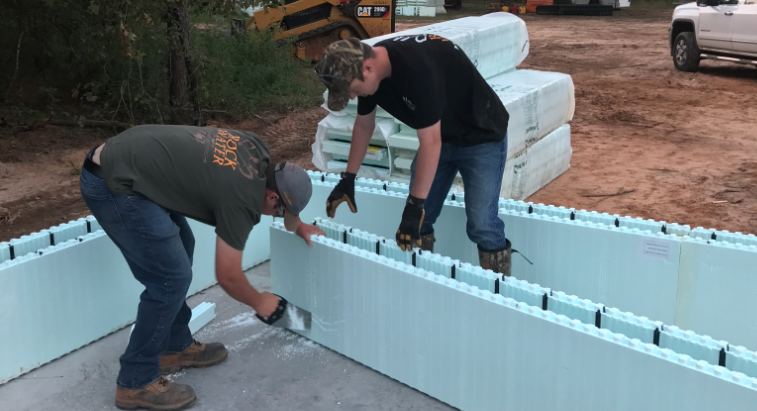 icf cutting to size